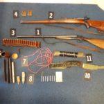 Pretresi u Danilovgradu: Pronađeno oružje i eksploziv