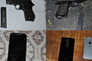 Pronađeni pištolji: U Podgorici uhapšena bezbjednosno interesantna osoba