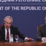 Zeman najavio preispitivanje češkog priznanja kosovske nezavisnosti