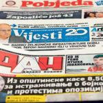 DAN se udružio s Pobjedom: Država im omogućila da prodaju novine i nedjeljom, a sve preko leđa radnika