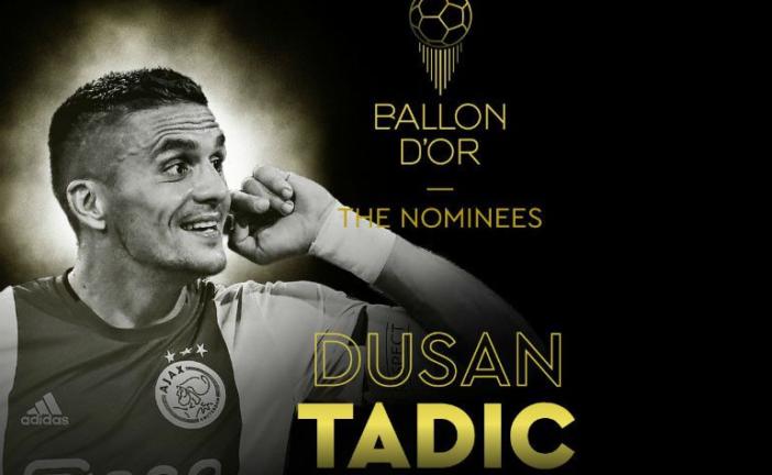 Dušan Tadić nominovan za Zlatnu loptu