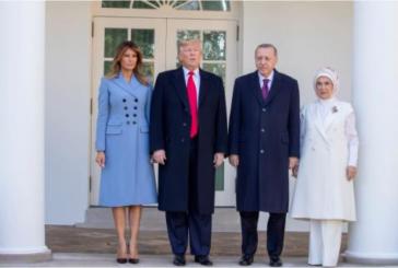 Tramp dočekao Erdogana, susret izazvao kritike