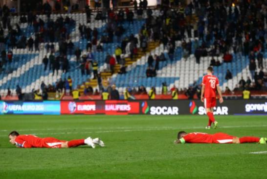 Ukrajina neporažena u Beogradu: Srbija ispustila pobjedu u poslednjoj sekundi!
