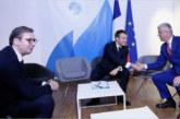 Sastanak kod Makrona: Tači tražio priznanje, Vučić poručio da je stav Srbije nepromijenjen