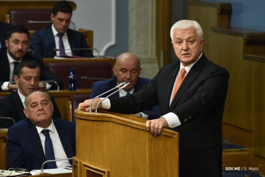 Marković u Skupštini 20. novembra