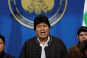 Evo Morales podnio ostavku na mjesto predsjednika Bolivije