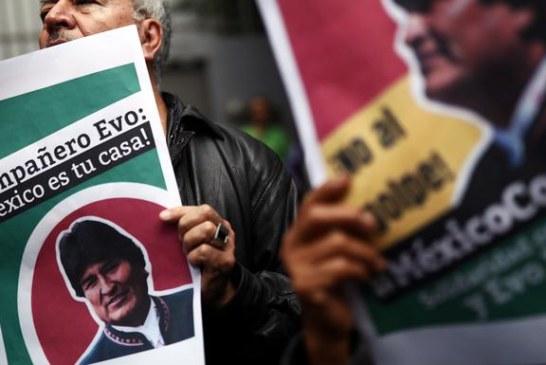 Morales dobio azil u Meksiku