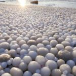 """Kako su """"ledena jaja"""" prekrila plažu u Finskoj"""