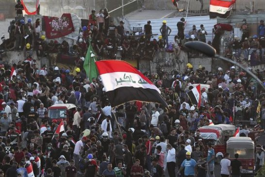 Demonstranti u Iraku preuzeli kontrolu nad centralnim trgom Bagdada