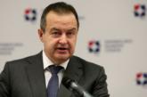 Dačić: Priština da ukine takse i vrati se dijalogu, to je jedino rješenje