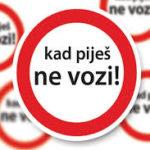 Apel Uprave policije: Ne vozite pod dejstvom alkohola