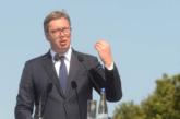 Vučić: Za dvije godine od Beograda do Kruševca za sat i po