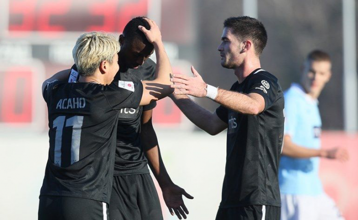 Partizan bolji od Rada: Fudbal zonskog ranga, prvi Sadikov gol glavom