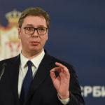 VUČIĆ: Ponosan sam na srpski narod u CG koji drži podignuto glavu