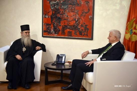Mitropolija odgovorila Markoviću: Crna Gora je i Srba i Crnogoraca, DPS-u nije smetalo da izlaze na izbore pod trobojkom!