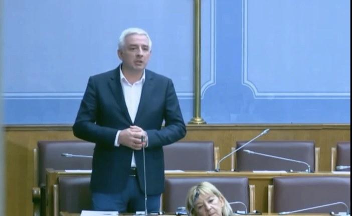 Vučurović: Zastiđe je da individua poput Ivana Brajovića bude predsjednik Skupštine!