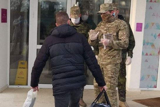 Herceg Novi: Bezbjednosno interesantna osoba sprovedena u karantin