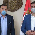 Vučić sa Dodikom o pomoći Srbije Republici Srpskoj