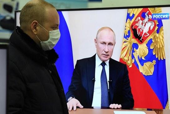 Putin: Najvažniji su životi građana, ali privreda ne smije stati