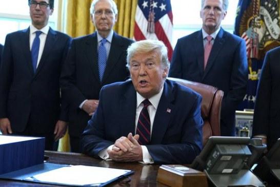 Tramp potpisao državnu pomoć od 2,2 hiljade milijardi dolara