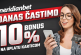 Vikend u Meridianu! SVAKA uplata karticom ti donosi 10% bonusa!