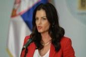 Šefica Odbora za odbranu Skupštine Srbije za Borbu: U Crnoj Gori postoje NVO i medijski punktovi za rušenje Srbije i Vučića!