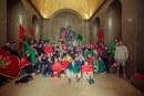 """Skandal na Cetinju: """"Komite"""" organizovale skup, uprkos zabrani, napravili bakljadu, nijesu koristili maske... (VIDEO)"""