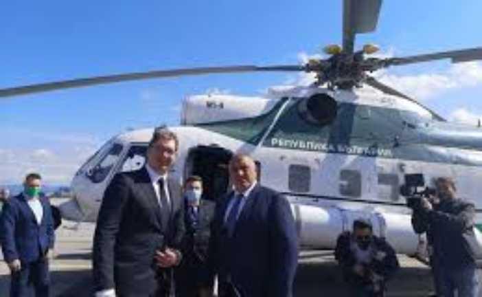 Vučić sa Borisovim: