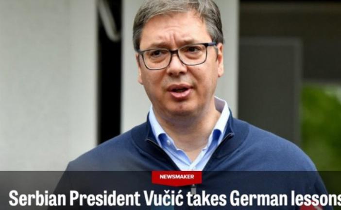 """""""Politiko"""": Vučić je dominantna politička ličnost, srpski predsjednik uči njemačke lekcije"""