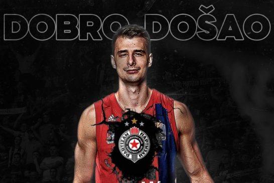 Dangubić: Srećan sam što sam potpisao za Partizan!