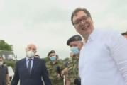 Vučić: Naša vojska je iz godine u godinu sve jača