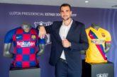 Lazar Carević produžio ugovor sa Barselonom do 2023. godine