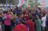 Skandal u Plavu, NKT ćuti: Baklje, okupljanje bez najave, kršenje distance i svih mjera zaštite od zaraznih bolesti! (VIDEO)