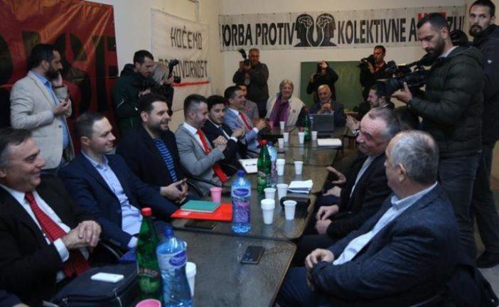 Sastanak opozicije završen, nastavak razgovora sjutra