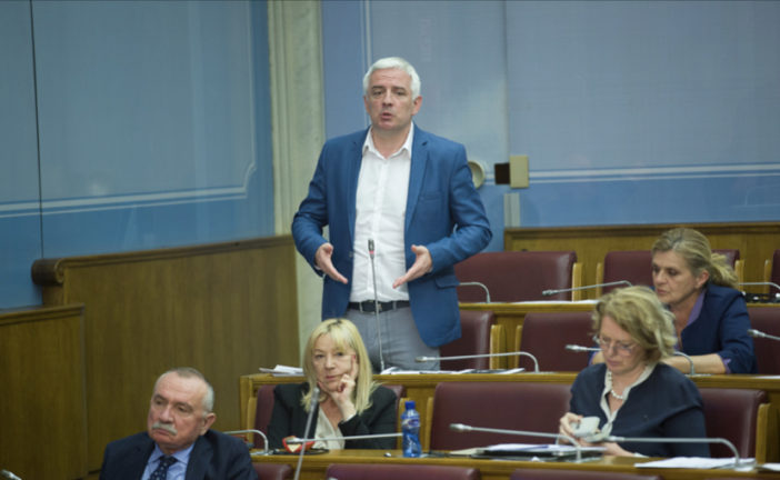 "Vučurović: Građani se sprdaju sa ""takozvanom vojnom službom bezbjednosti"""