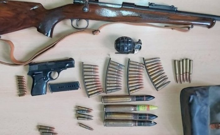 Na Žabljaku: Pronađeno oružje, municija i ručna bomba