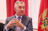 Đukanović: Crnu Goru brinu sukobi u Nagorno-Karabahu, prekinuti vojne akcije