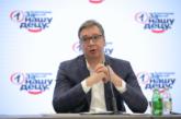 Vučić: Vanredni parlamentarni izbori najkasnije u aprilu 2022., predsjednik Skupštine Ivica Dačić