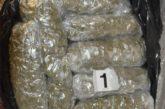 Uhapšena osoba kod koje je pronađeno 11 kilograma marihuane